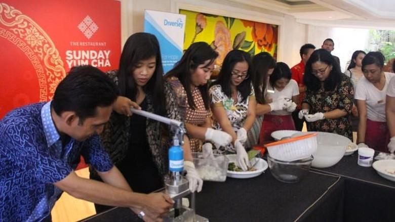Foto: Program daur ulang sabun di Bali (Istimewa)