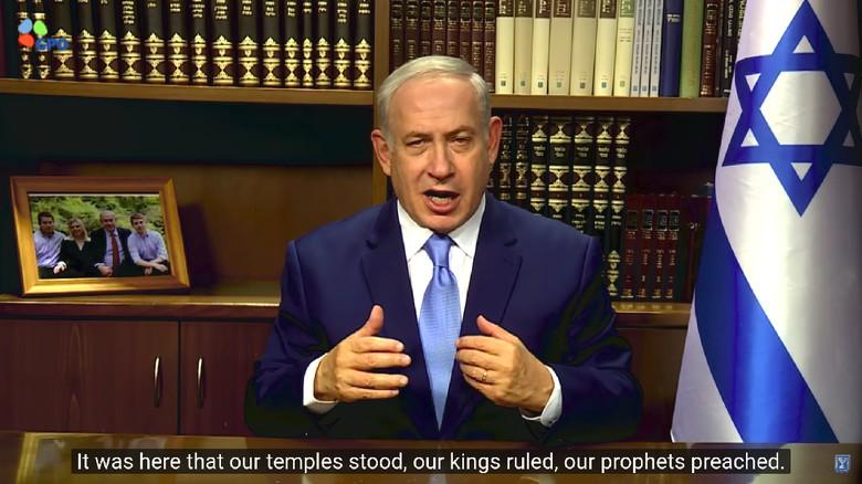 PM Palestina Harus Terima Kenyataan - Paris Perdana Menteri Israel Benjamin Netanyahu menyebut Palestina harus bisa menerima kenyataan soal Yerusalem telah menjadi Ibu Kota