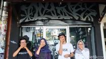 Toko Grafiti di Semarang Jadi Ajang Kumpul-kumpul Street Artist