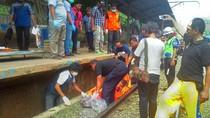 Diduga Korban Begal, Pria Ditemukan Tewas di Eks Stasiun Gunungputri