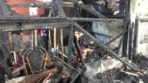 Penampakan Pasar Gembrong Lama yang Hangus Terbakar