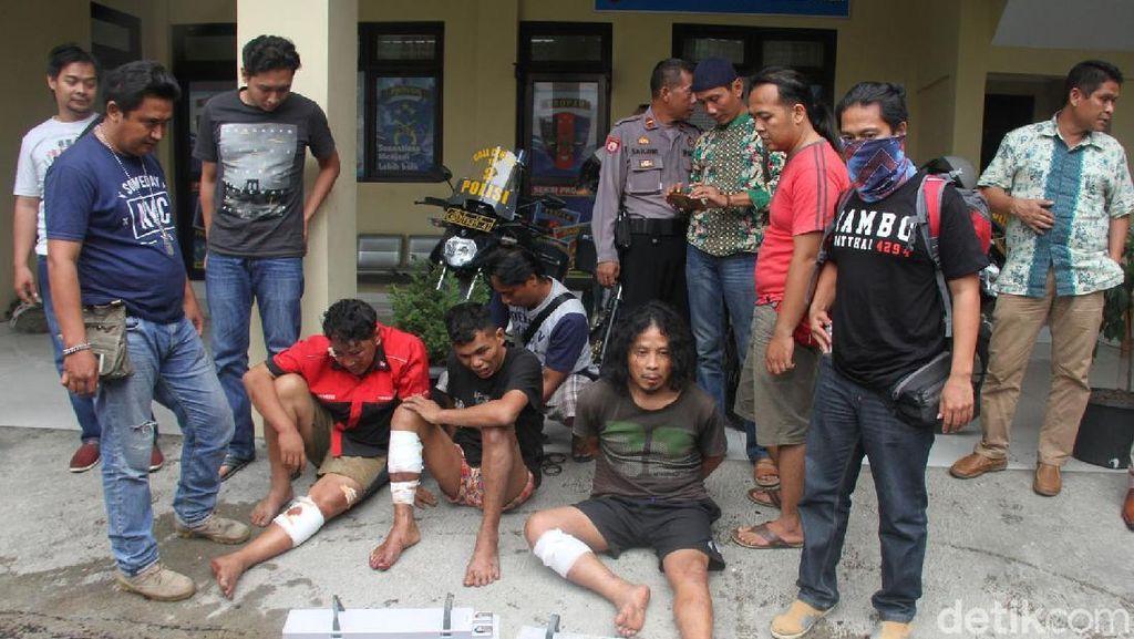 Kawanan Maling Baterai BTS Dibekuk Polres Brebes