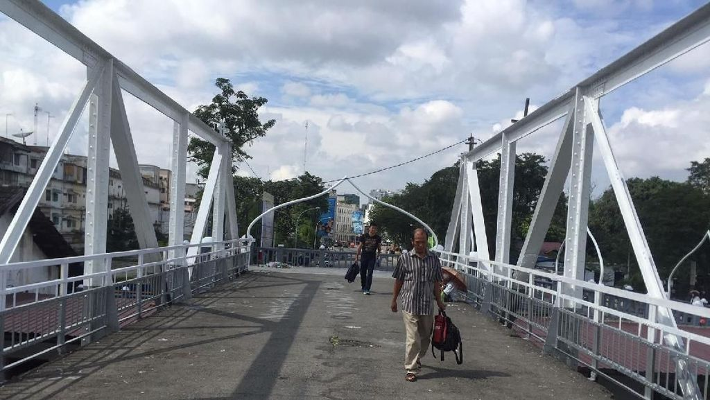 Jembatan Titi Gantung Semakin Dikikis Zaman