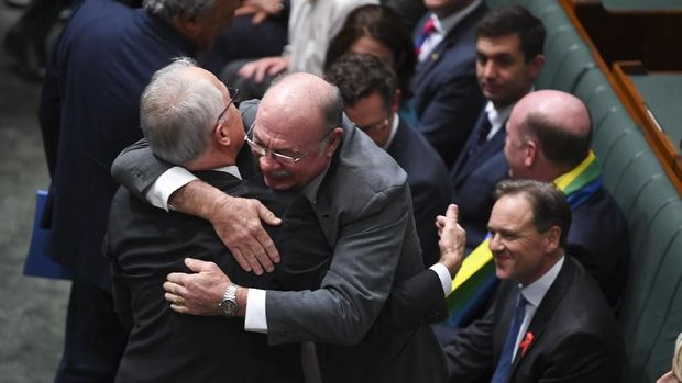 Parlemen Australia Setuju Pernikahan Sesama Jenis