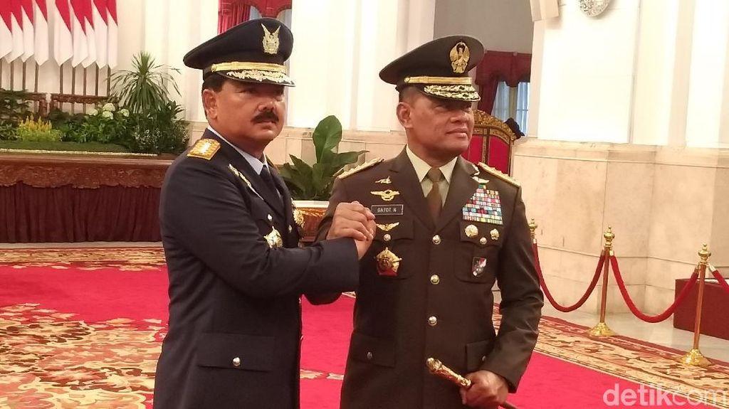 Jenderal Gatot: Saya Minta Maaf atas Kekurangan dan Kekhilafan