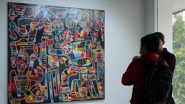 Pameran Ruci Art Space Place of Belonging Hadirkan Karya Tiga Seniman