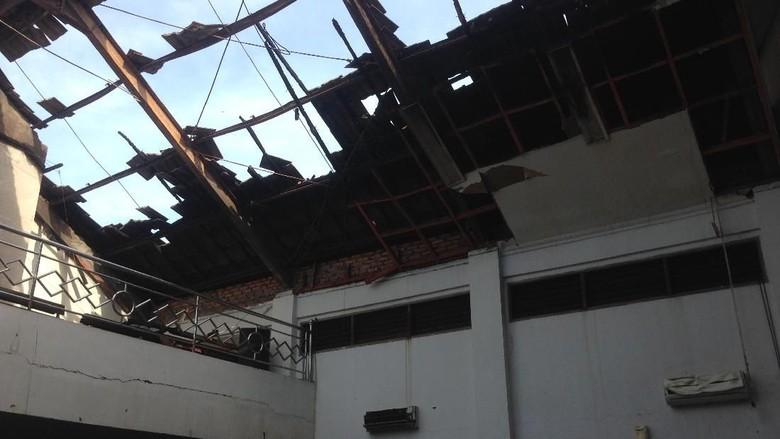 Begini Kondisi GKI Gembrong yang Terimbas Kebakaran Pasar