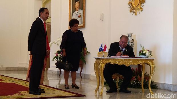 kunjungan kenegaraan Presiden Republik Nauru, Baron Divavesi Waqa