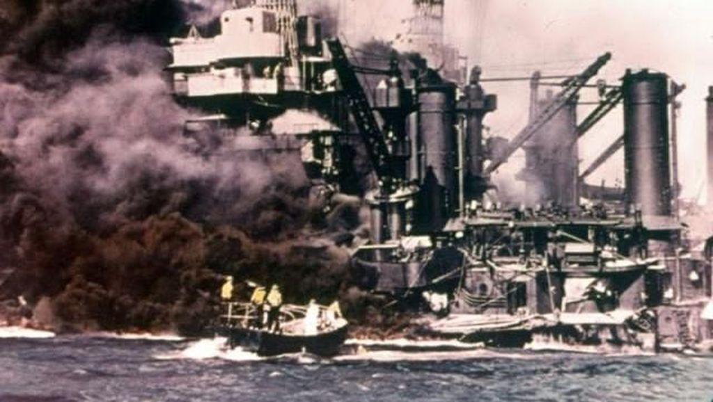 Potret Pengeboman Pearl Harbor, Jepang Bangkitkan Macan Tidur