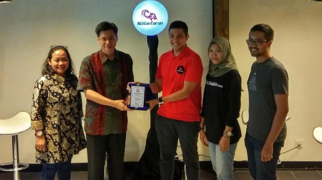 Lari 127 Km untuk Galang Donasi di NusantaRun