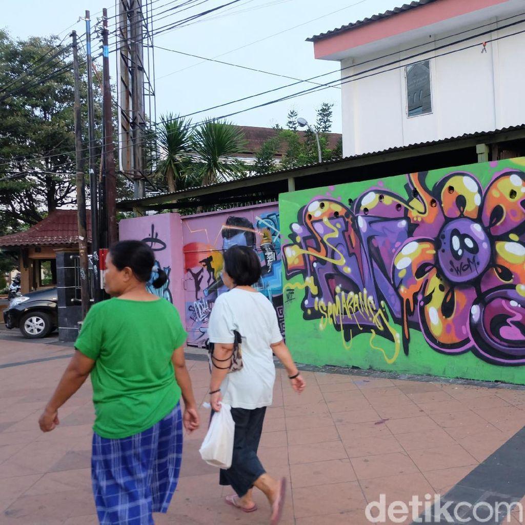 Berkat Kampung Pelangi Semarang, Publik Ramah pada Seni Grafiti dan Mural