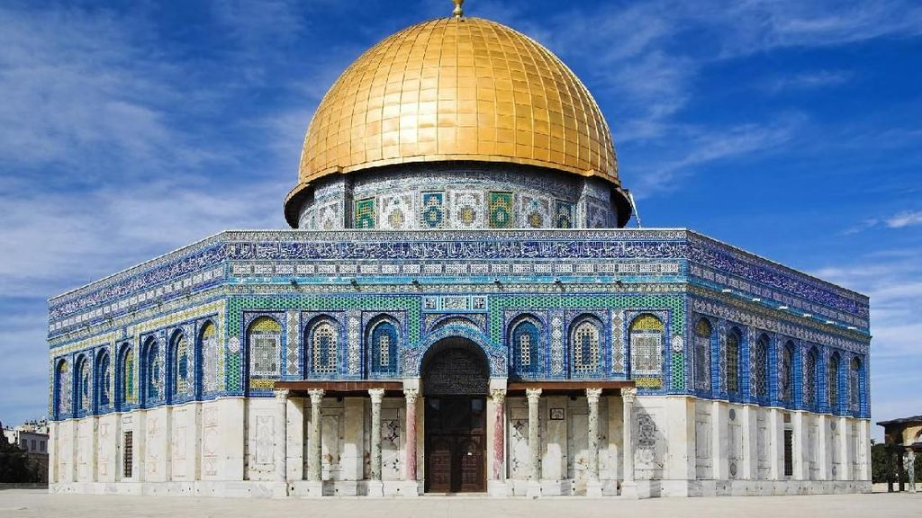 Foto: Dome of The Rock yang Sering Dikira Masjid Al Aqsa