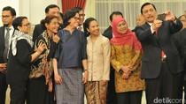 Cerita Luhut di Balik Selfie Bareng Srikandi Kabinet Jokowi