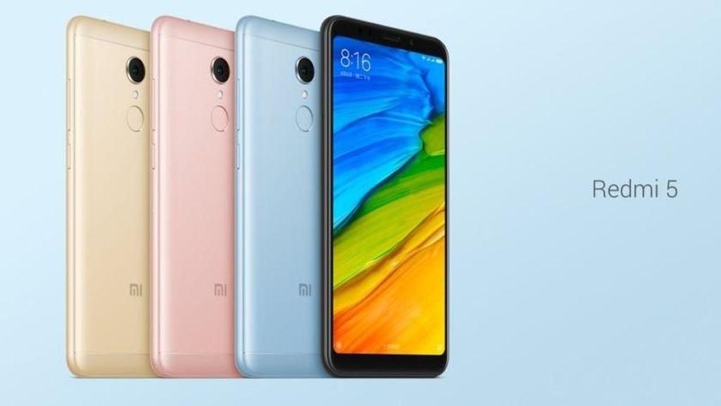 Xiaomi Redmi 5 Dirilis, Harganya Mulai Rp 1,6 Juta
