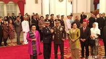 Hormat dan Salam Komando Jenderal Gatot untuk Panglima Marsekal Hadi