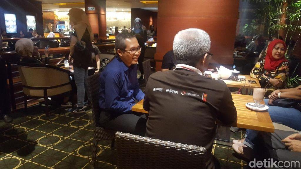 Pimpinan KPK Hadiri Nobar Film Sambut Hari Antikorupsi