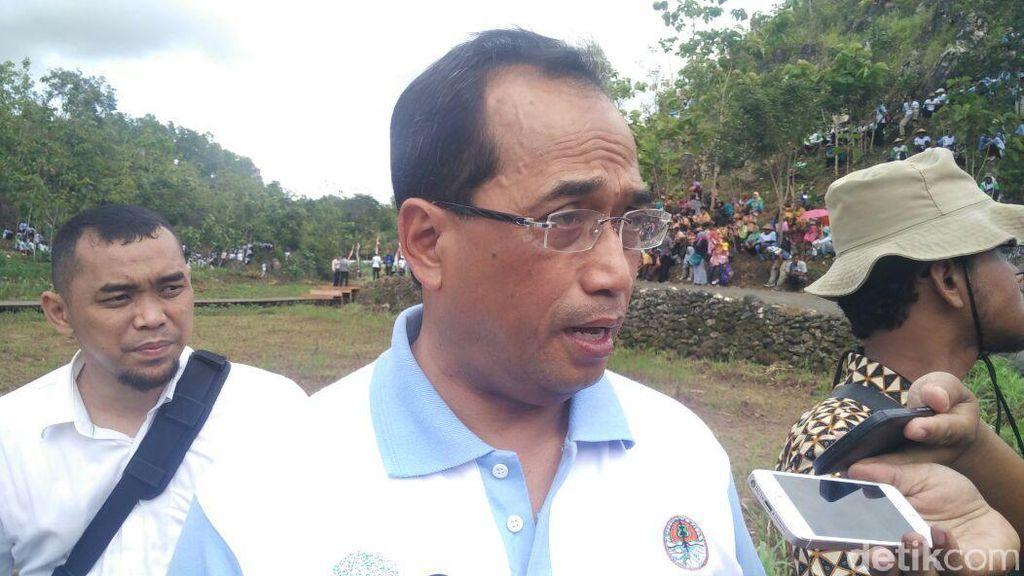 Menhub Janji Rangkul Warga Penolak Bandara di Kulon Progo