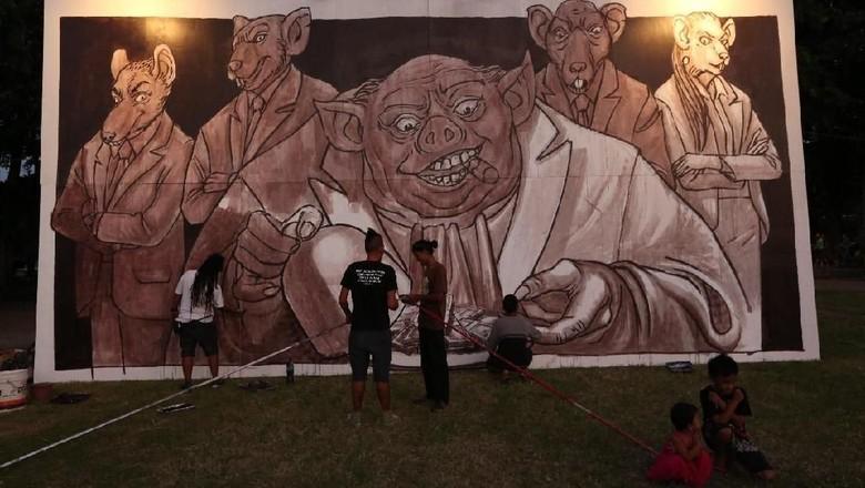 Angkat Perjuangan KPK Akhiri Peringatan - Jakarta KPK menutup rangkaian peringatan Hari Antikorupsi Internasional di Bali yang sudah dimulai sejak September Tema yang diangkat