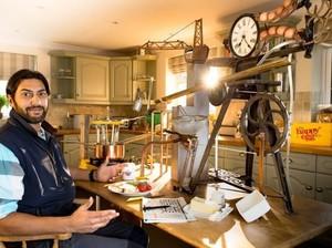 Keren! Peternak Ini Ciptakan Mesin Pembuat 'Poached Egg'