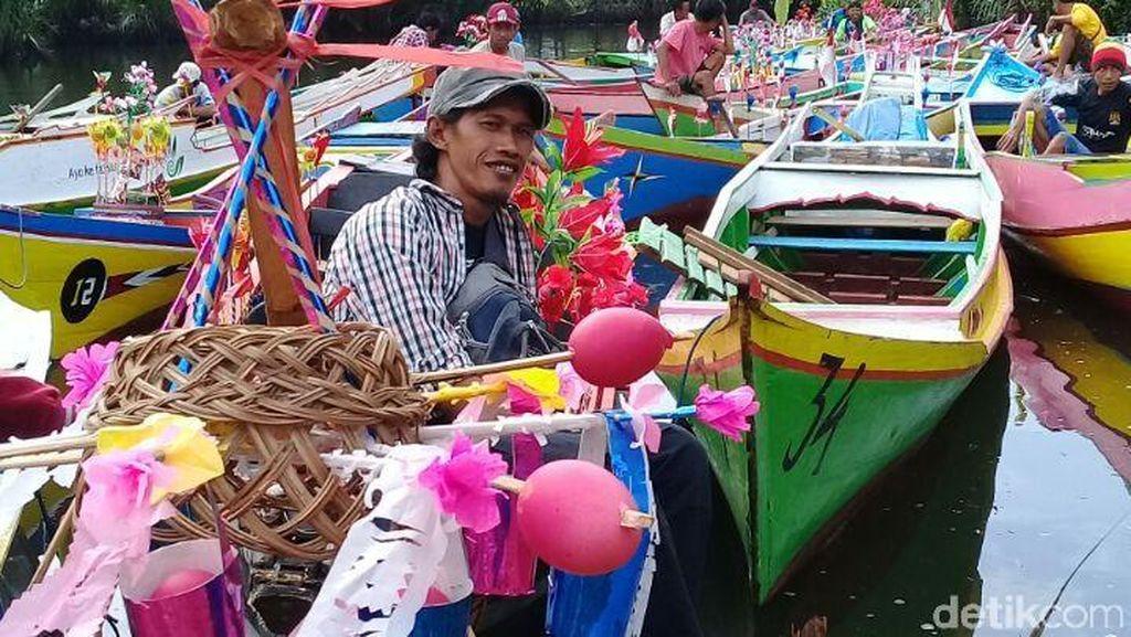 Potret Uniknya Tradisi Maulid di Objek Wisata Karst Rammang-Rammang