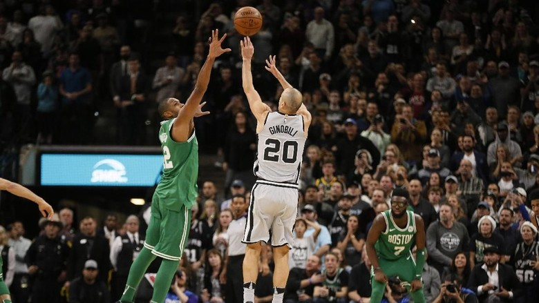 Spurs Beri Celtics Kekalahan Kelima