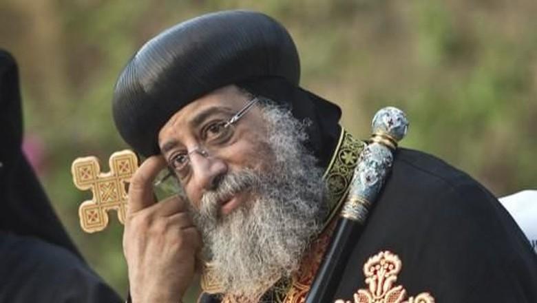 Kepala Gereja Koptik Mesir Tolak - Kairo Gereja Koptik Mesir Paus Tawadros II membatalkan pertemuan dengan Wakil Presiden Amerika Serikat Mike Pence di Kairo