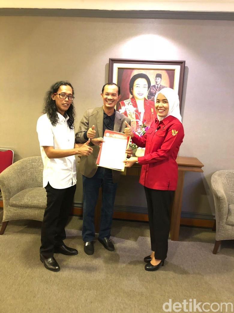 PDIP Resmi Dukung Harnojoyo-Fitri Maju Pilwalkot Palembang