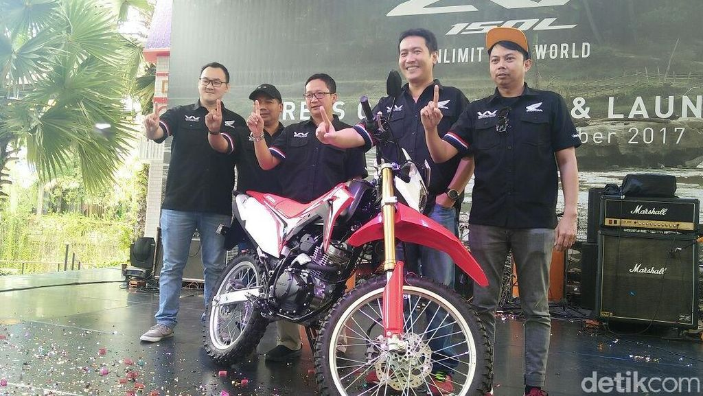 Honda CRF150L Unjuk Gigi di Jakarta dan Tangerang