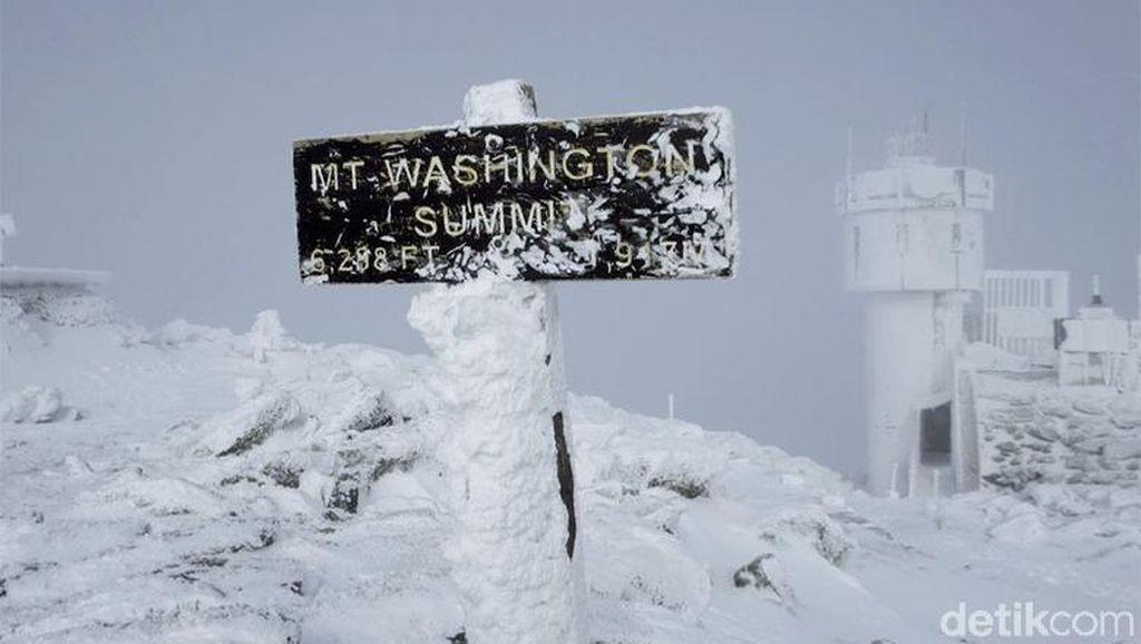 Foto: Gunung Mematikan dengan Cuaca Terburuk di Dunia