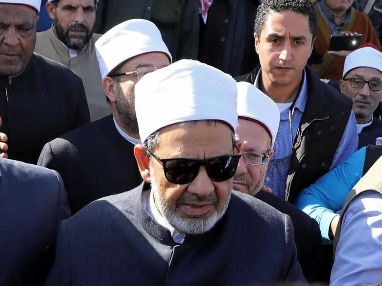 Imam Besar Masjid Al-Azhar Mesir Tolak Bertemu Wapres AS