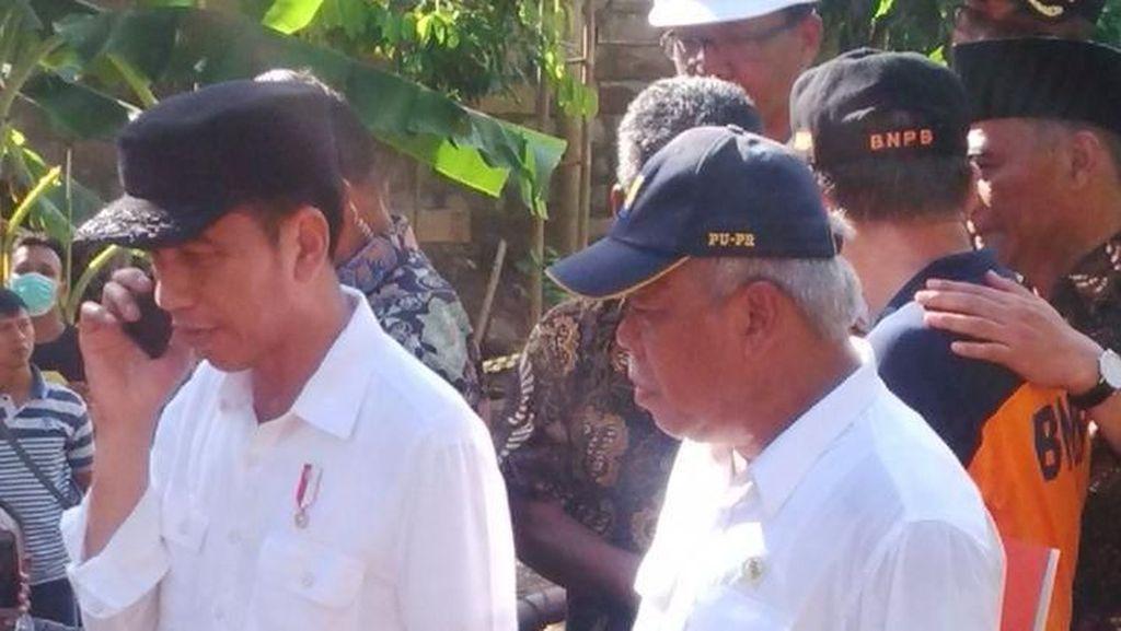 Jokowi Kunjungi Kampung SBY di Pacitan yang Terkena Banjir