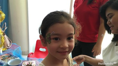 Yuk, Bun, Seru-seruan Face Painting Sama Anak
