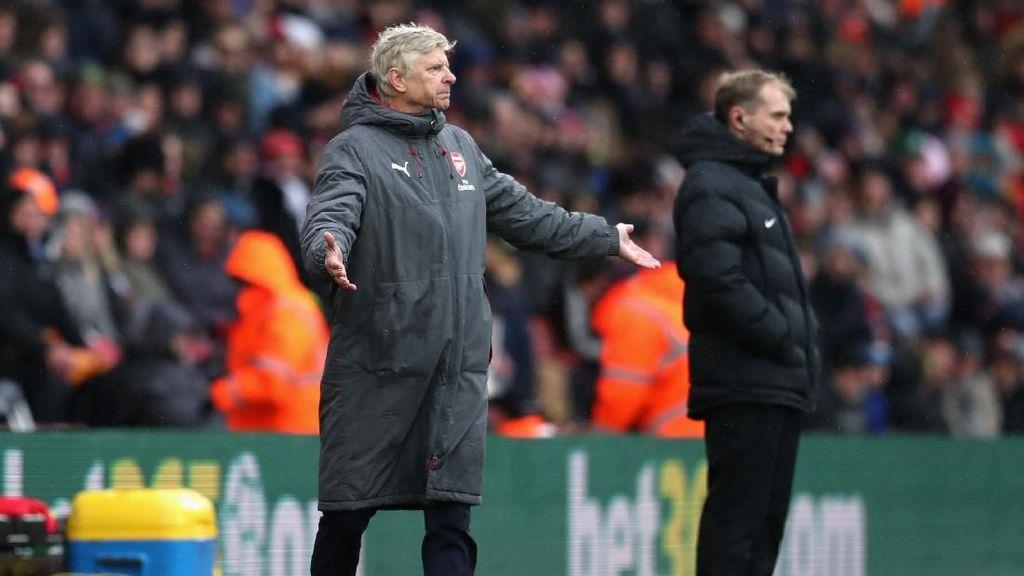 Ditahan Southampton, Wenger: Start Arsenal Lambat