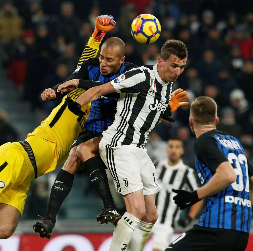 Inter Siap Hadapi Juve yang Sedang Marah