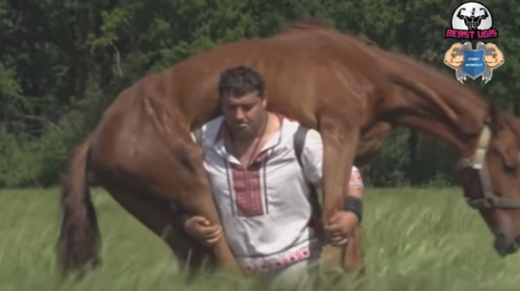 Bisa Angkat Kuda, Ini Dia Raksasa Terkuat di Dunia