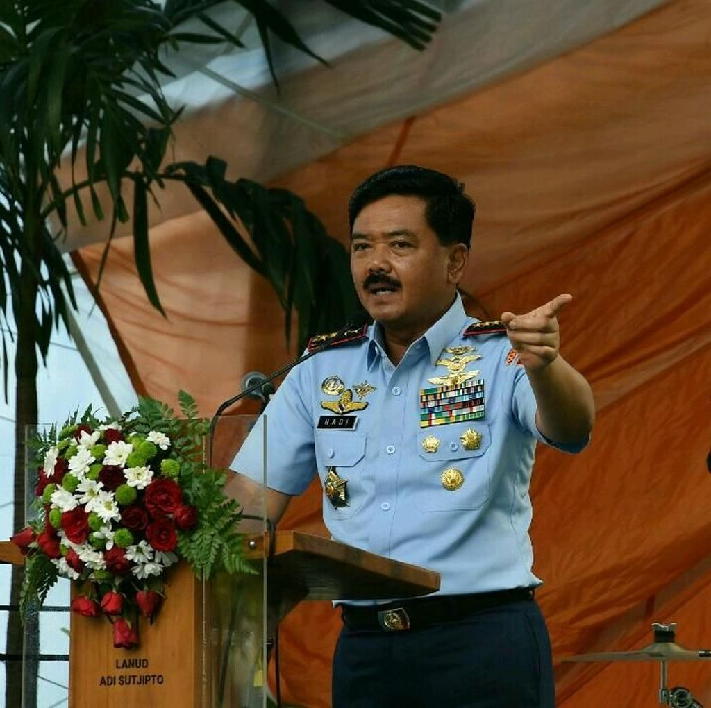 Panglima TNI Marsekal Hadi: Kopassus Zaman Now akan Lebih Baik
