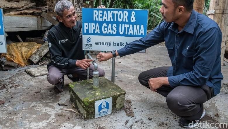 PGN Bangun 10 Reaktor Biogas di Semarang