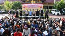 Jelang Akhir Tahun, 165 Preman Diamankan Polres Malang