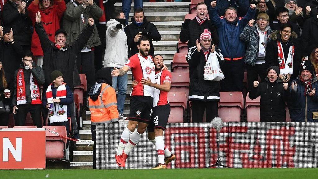 Babak Pertama Usai, Arsenal Tertinggal 0-1 dari Southampton