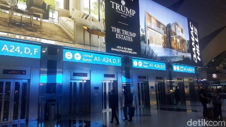 Foto: Bandara Internasional Dubai di UEA