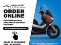 Sambut Akhir Tahun, XMAX Order Online Day Dibuka Lagi 10 Desember