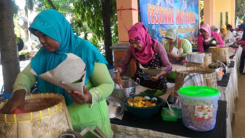 Pingin Cicipi Kuliner Khas Lamongan, Yuk ke Festival Nasi Boranan