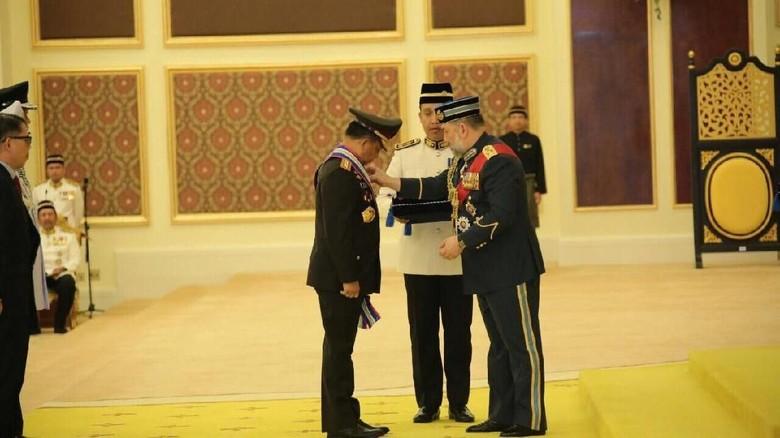 Kapolri Dapat Gelar Panglima Gagah dari Raja Malaysia