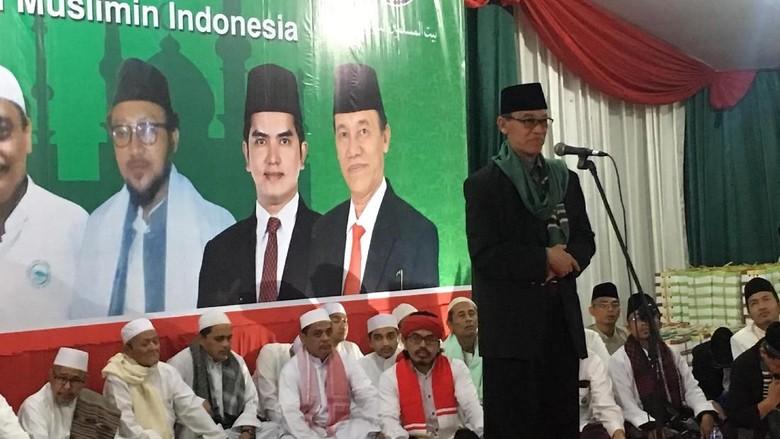 Ormas Sayap PDIP Gelar Peringatan - Jakarta Pusat Baitul Muslimin Indonesia menggelar tabligh akbar Maulid Nabi Muhammad Saw di Lapangan DPP PDI Jakarta Acara