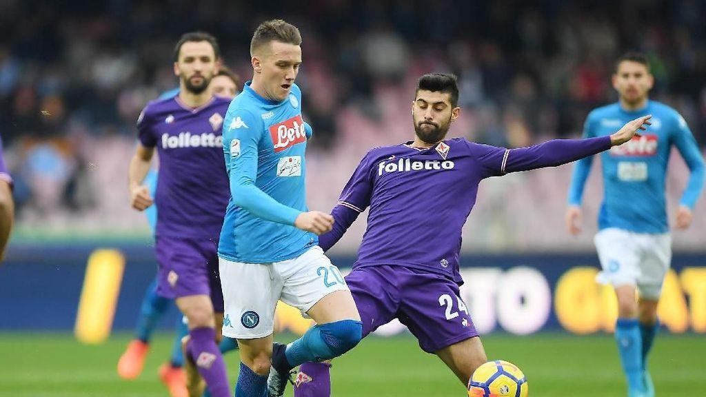 Diimbangi Fiorentina, Napoli Gagal Rebut Puncak Klasemen