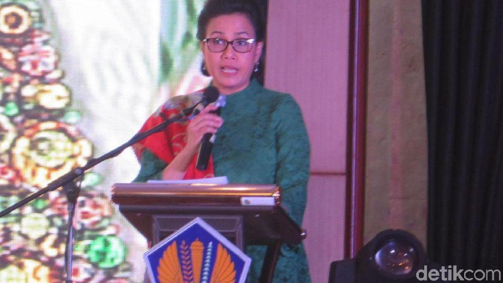 Sri Mulyani Tantang Robert Pakpahan Capai Target Penerimaan Pajak 2018