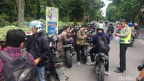 150 Sepeda Motor Berknalpot Brong Terjaring Razia