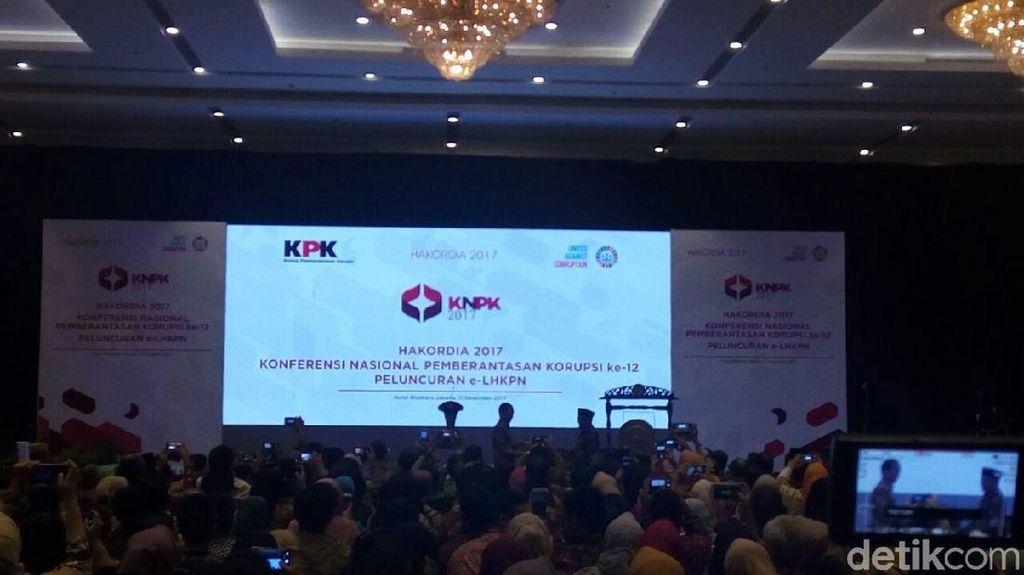 KPK Luncurkan e-LHKPN, Jokowi yang Pertama Diberi User Name