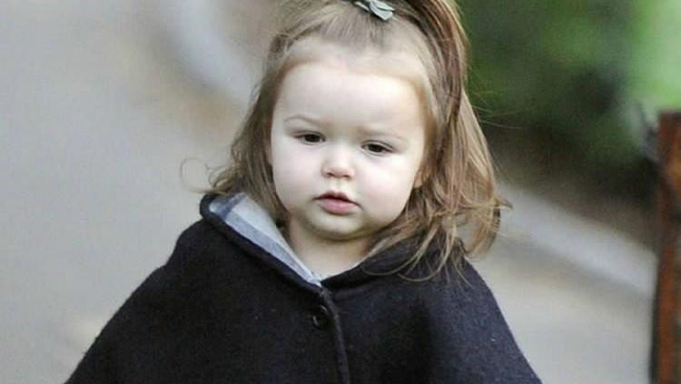 Potret Cute-nya Harper, Putri Semata Wayang David Beckham