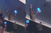 Park Bo Gum terlihat menonton konser BTS di Seoul.